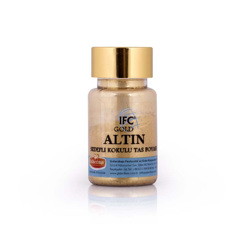Altın Sedef kokulu Taş Boyası - IFC