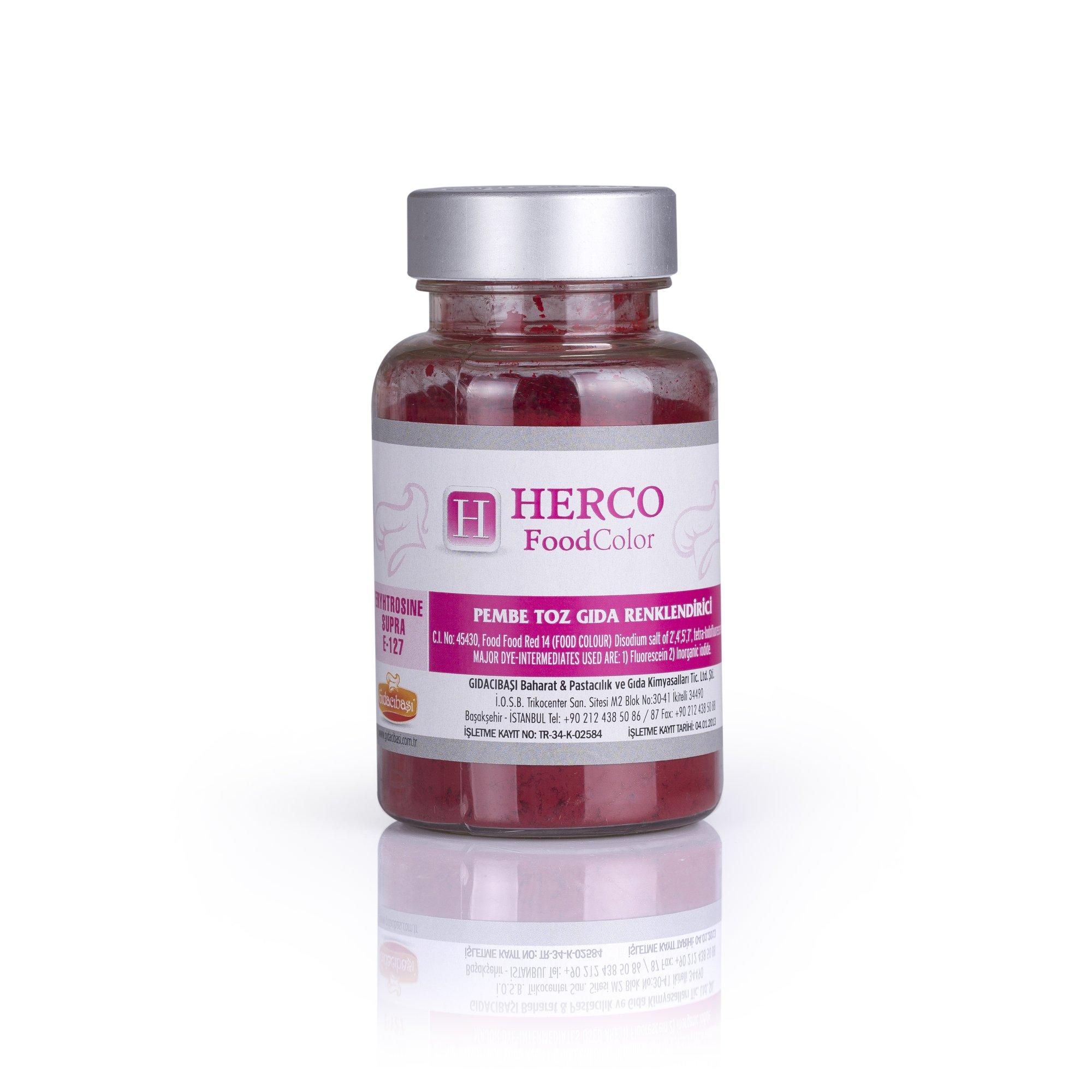 Pembe Toz Gıda Renlendirici - Herco FoodColor