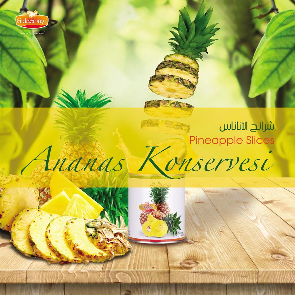 Ananas Konserve
