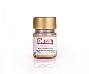 Bordo Renk Yağ Bazlı Gıda Renklendirici - Decol